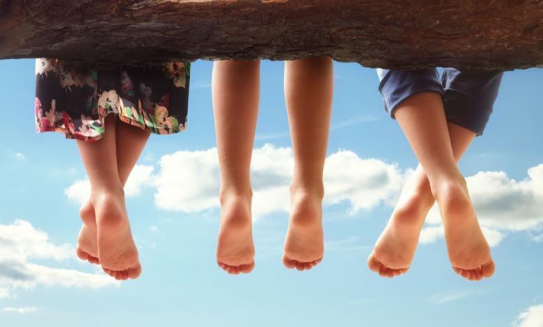 Le dita dei piedi